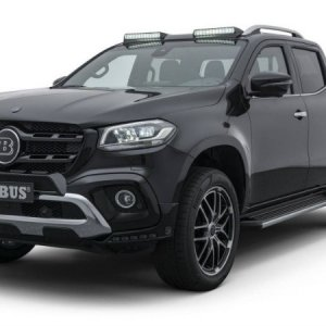 mercedes benz x class by brabus